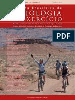 revista brasileira de fisiologia do exercício