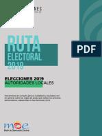 Ruta electoral 2019