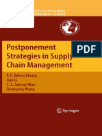 (International Series in Operations Research & Management Science 143) T. C. Edwin Cheng, Jian Li, C. L. Johnny Wan, Shouyang Wang (auth.) - Postponement Strategies in Supply Chain Management-Springer.pdf