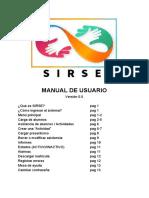 Manual de usuario plataforma Sirse