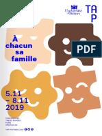 Rencontres Michel Foucault 2019 «À chacun sa famille»