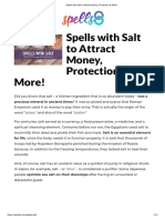 Spells With Salt to Attract Money, Protection & More!
