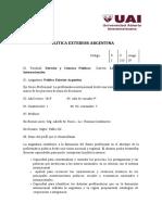 politica Exterior Argentina