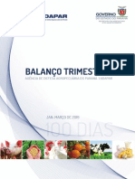 Relatorio 100 dias Adapar