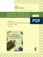 Historias Que Um Jabuti Manual Do Professor Vol 3