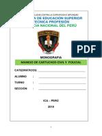 Cartuchos de Uso Civil y Policial