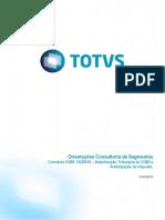 Orientações Consultoria de Segmentos Convênio ICMS 142/2018 –Substituição Tributária do ICMSe Antecipação do imposto.
