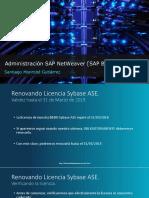 Renovando Licencia Sybase ASE