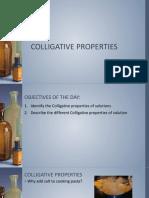 Gen. Chem Colligative Properties