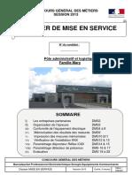 948 Cgm2013 Bacproeleec Dossier de Mise en Service Epreuve Pratique