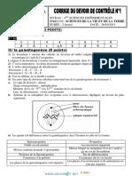 Devoir Corrigé de Contrôle N°1 - SVT - Bac Sciences exp (2013-2014) Mr Mzid Mourad .pdf