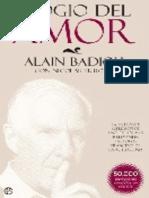 Elogio Del Amor - Alain Badiou