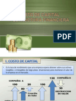 Costo de Capital y Estructura Financiera