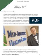Who is Scott Rifkin, MD_ - Scott Rifkin - Medium