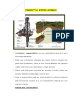 yacimientos petroliferos