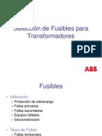 Seleccion de Fusibles Para Transformadores