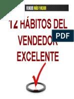 12 Hábitos Del Vendedor Excelente