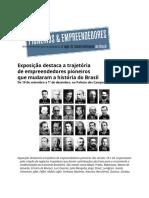 Exposicao Pioneiros_ Informe Resumido Setembro 2019