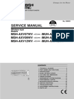 Manual Muh Axv12wv
