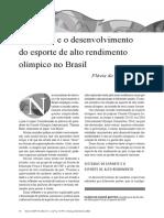 Texto Alto Rendimento Olimpico Brasil