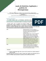 """Resumo simplificado do artigo """"Caracterização de biotérios, legislação e padrões de Biossegurança"""""""