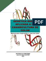 Genetica Básica Aplicada a La Canaricultura de Color