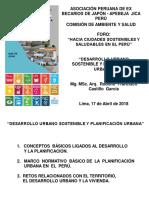 Mg MSc Arq Rodolfo Castillo Garcia