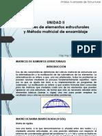 ANALISIS ESTRUCTURAL UTILIZANDO EL METODO DE RIGIDECES