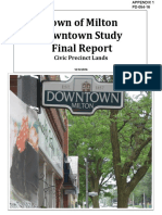 STAND ALONE REPORT Downtown Study Final Report 2
