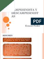 Campesinista y Descampesinistas