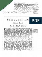Semaynes Case 5 Coke R. 91 (1604)