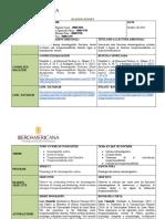 Readign Report Fisiología