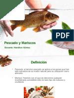 peces y mariscos