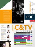 Brochure Cine Televisión