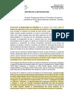 Resumen Historia de La Biotecnología