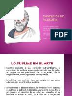 Exposicion de Filosofia