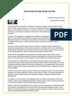 Artículo de Opinión - María Fernanda Eca Chavez