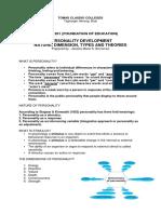 Handouts for Educ 201