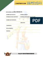 Informacion Del Proyecto2