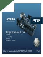 Arduino3 Parte
