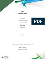 Fase 2 - Planificacion y Analisis