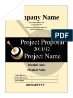 Project Proposal Template 14