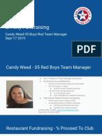 SA City Fundraising Meeting Candy Weed