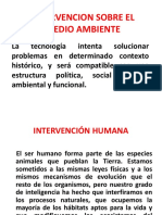 Intervencion Sobre El Medio Ambiente