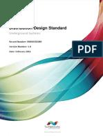 Distribution Design Standard Underground System
