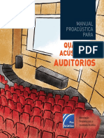 Qualidade Acustica Auditorios - ProAcustica