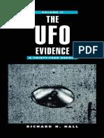 The UFO Evidence - Richard H. Hall