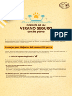 GuiaConsejosVeranoSeguroConTuPerro