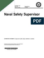 NAVEDTRA 12971, Naval Safety Supervisor