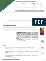 Independência Do Brasil_ Resumo, Causas, Consequências - Brasil Escola